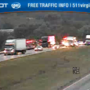 Interstate traffic moving smoothly after vehicle fire on 81 in Montgomery Co.