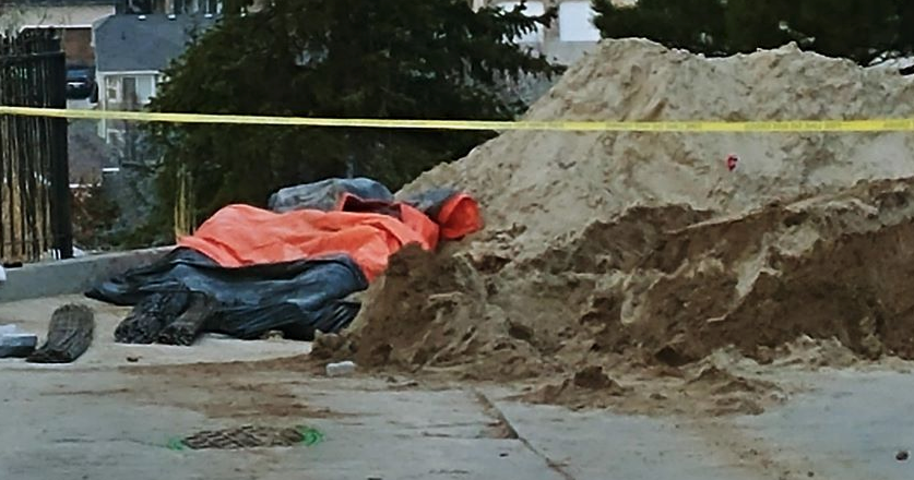BREAKING: Man dies after retaining wall collapses (Photo: KUTV)