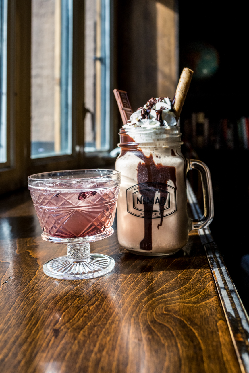Bourbon Smash and Chocolate Espresso Rum / Image: Catherine Viox // Published: 10.11.20