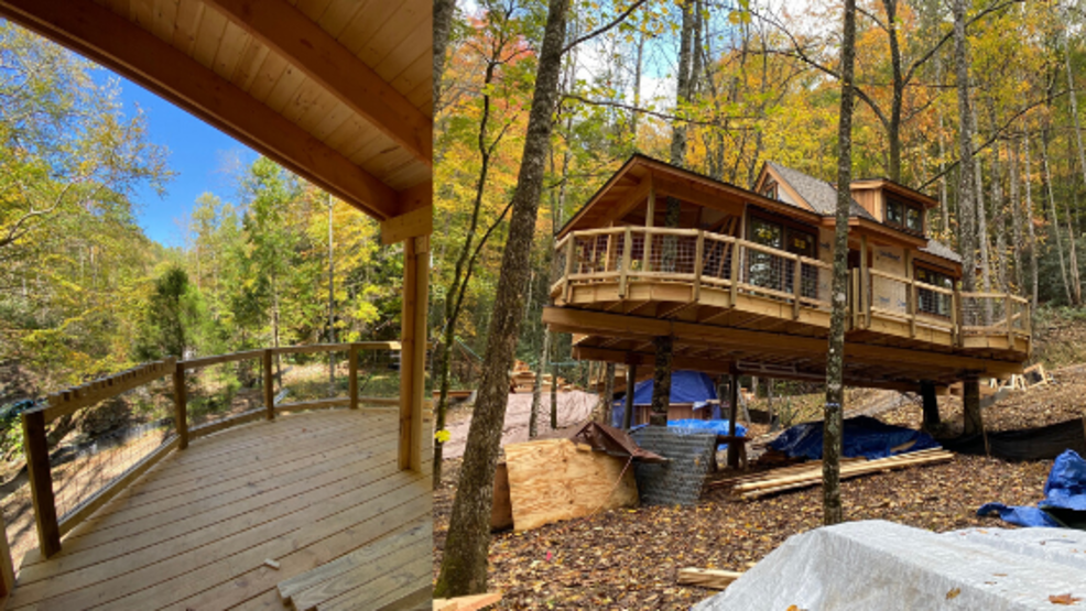 New treehouses coming to the Smokies. (Treehouse Grove at Norton Creek photos).png