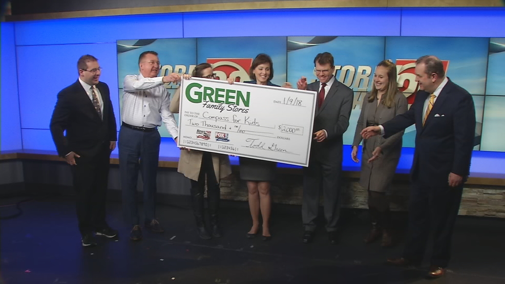 Green Family Stores >> Storm Team Green Family Stores Donate 2k To Compass For