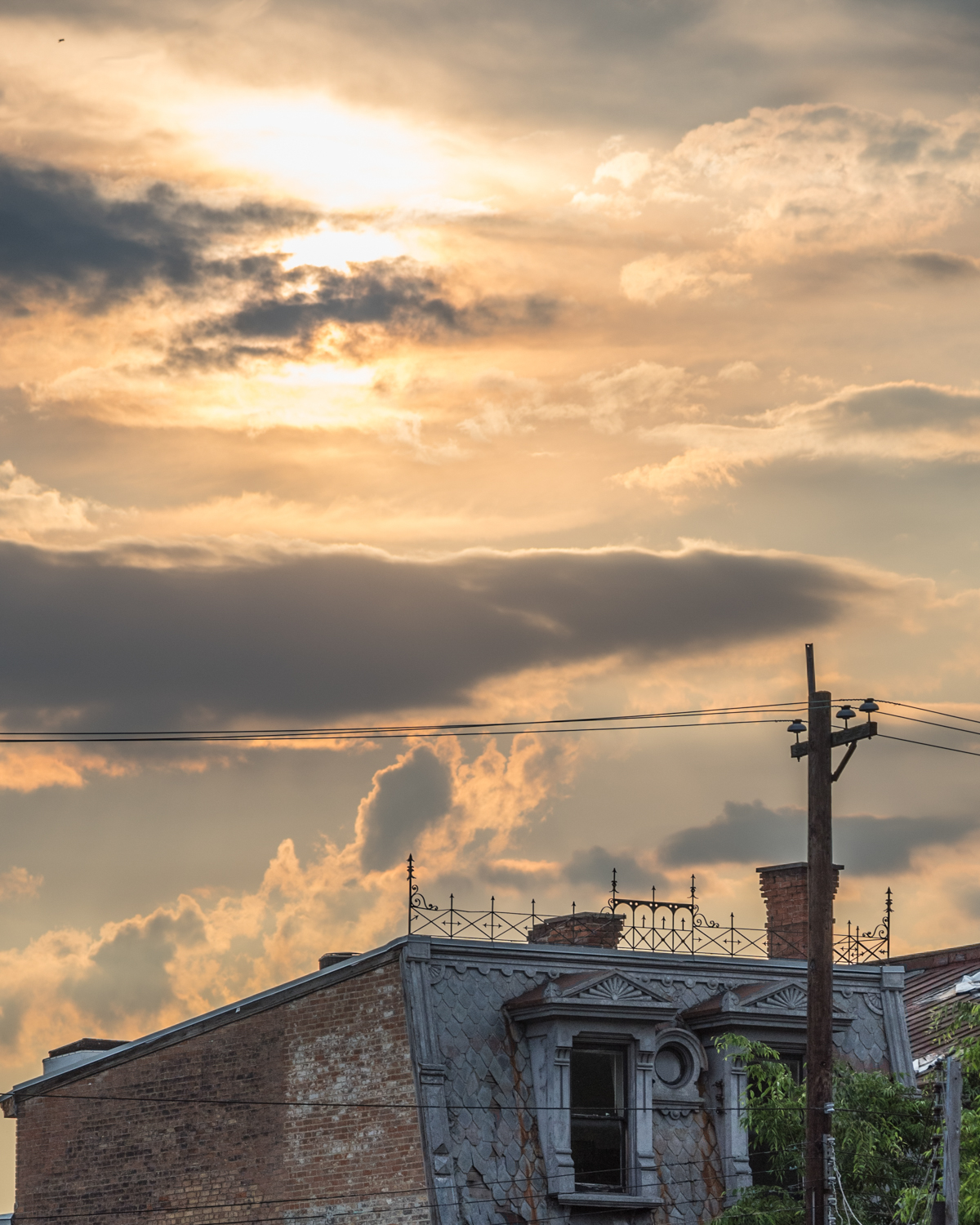 The city meets the sky at 2017 Elm Street in Over-the-Rhine / Image: Phil Armstrong, Cincinnati Refined