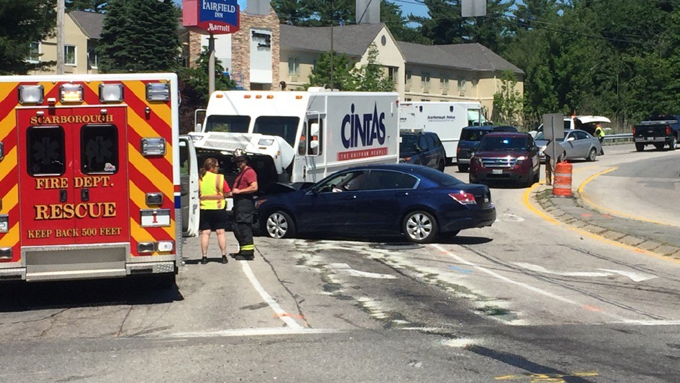 Man causes crash in Scarborough after leading police on