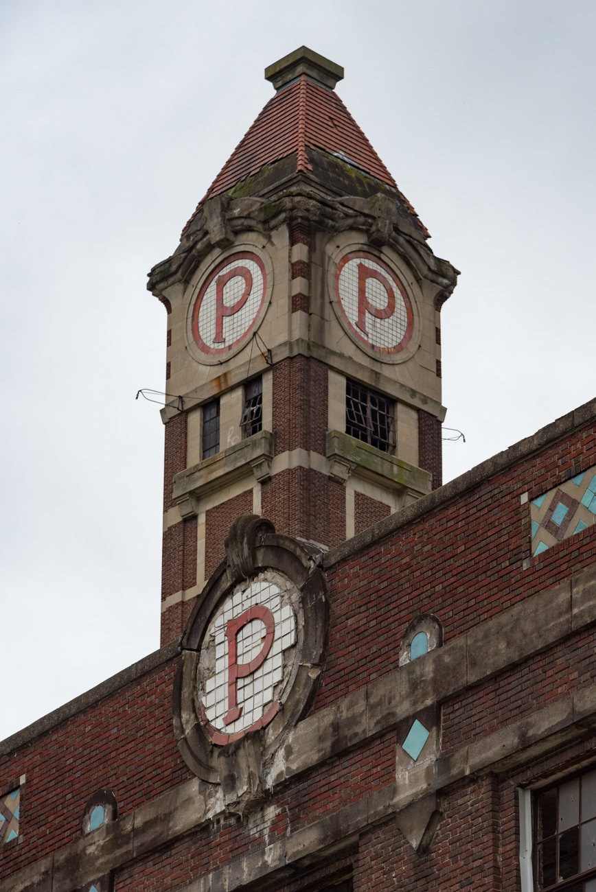 Each factory tower is adorned with an iconic 'P' and can be easily spotted from a distance. / Image: Phil Armstrong, Cincinnati Refined // Published: 10.13.17