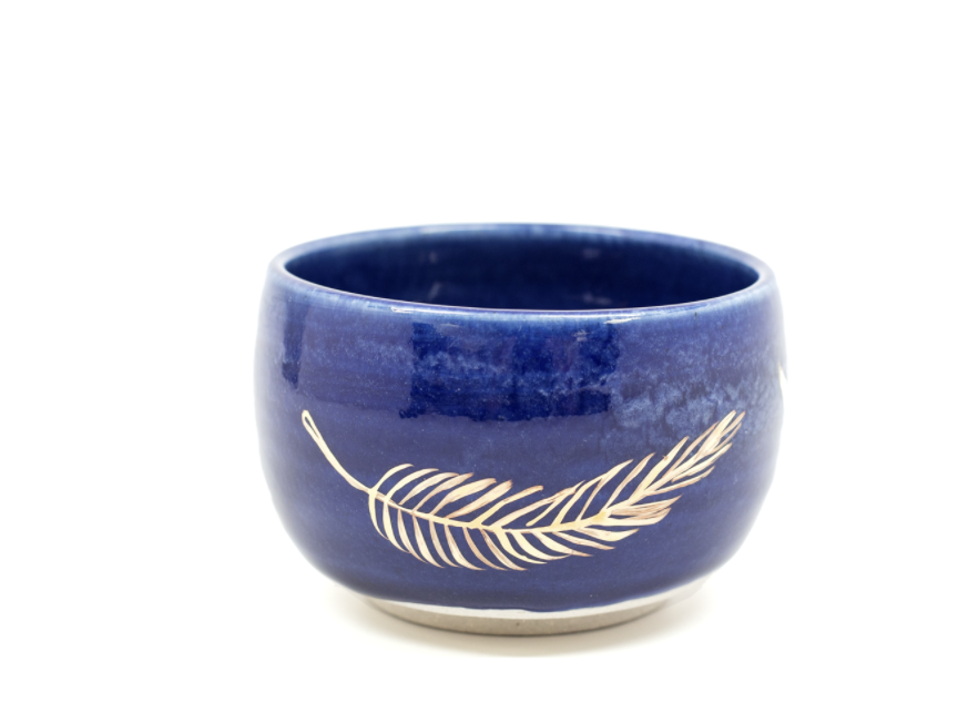 Large Feather Bowl by Pickle Pottery from Moorea Seal Collection ($40). Find on mooreaseal.com. (Image: Moorea Seal)