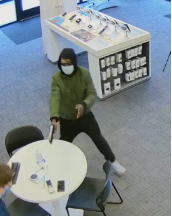 Police are working to identify four suspects accused of robbing at AT&T store in East Columbus. (Columbus Division of Police)