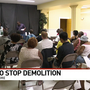 West Balt. residents rally to stop demolition, urge city to 'rebuild'