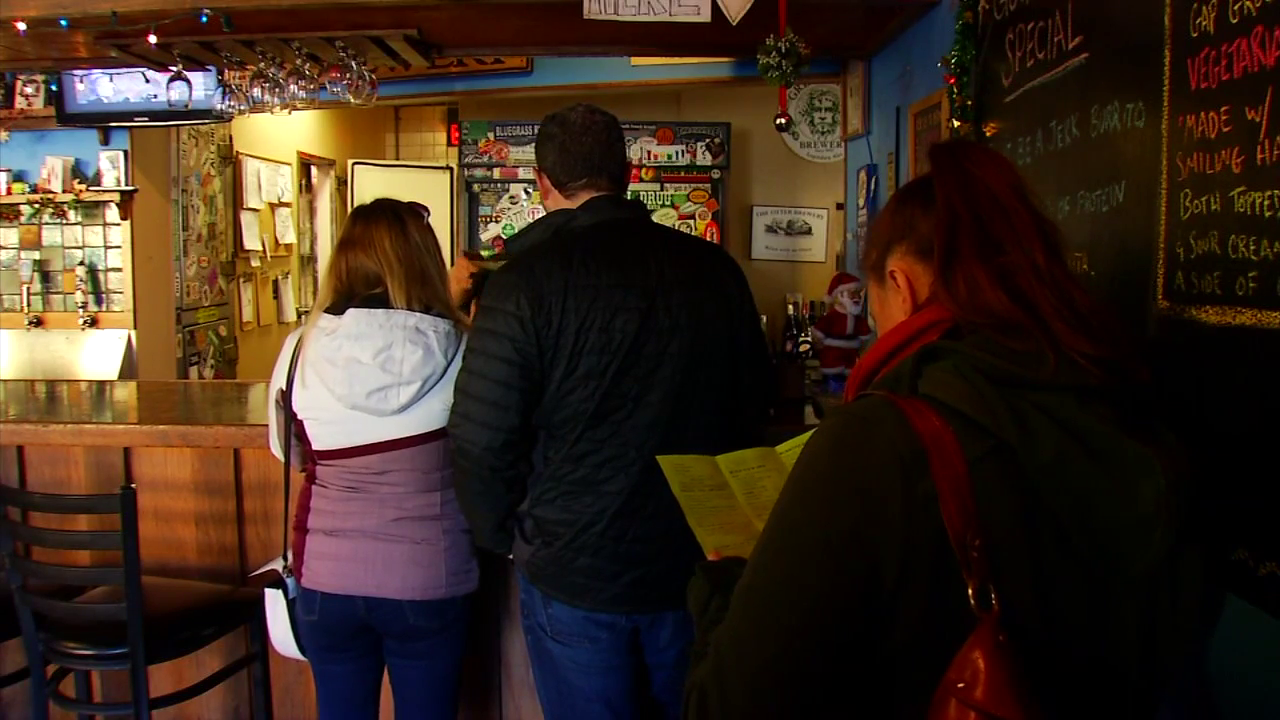 The last day you can enjoy food from the Lucky Otter, which has been on Haywood Road for 15 years, is Dec. 31. (Photo credit: WLOS staff)