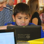 Candler Elementary students get digital library cards
