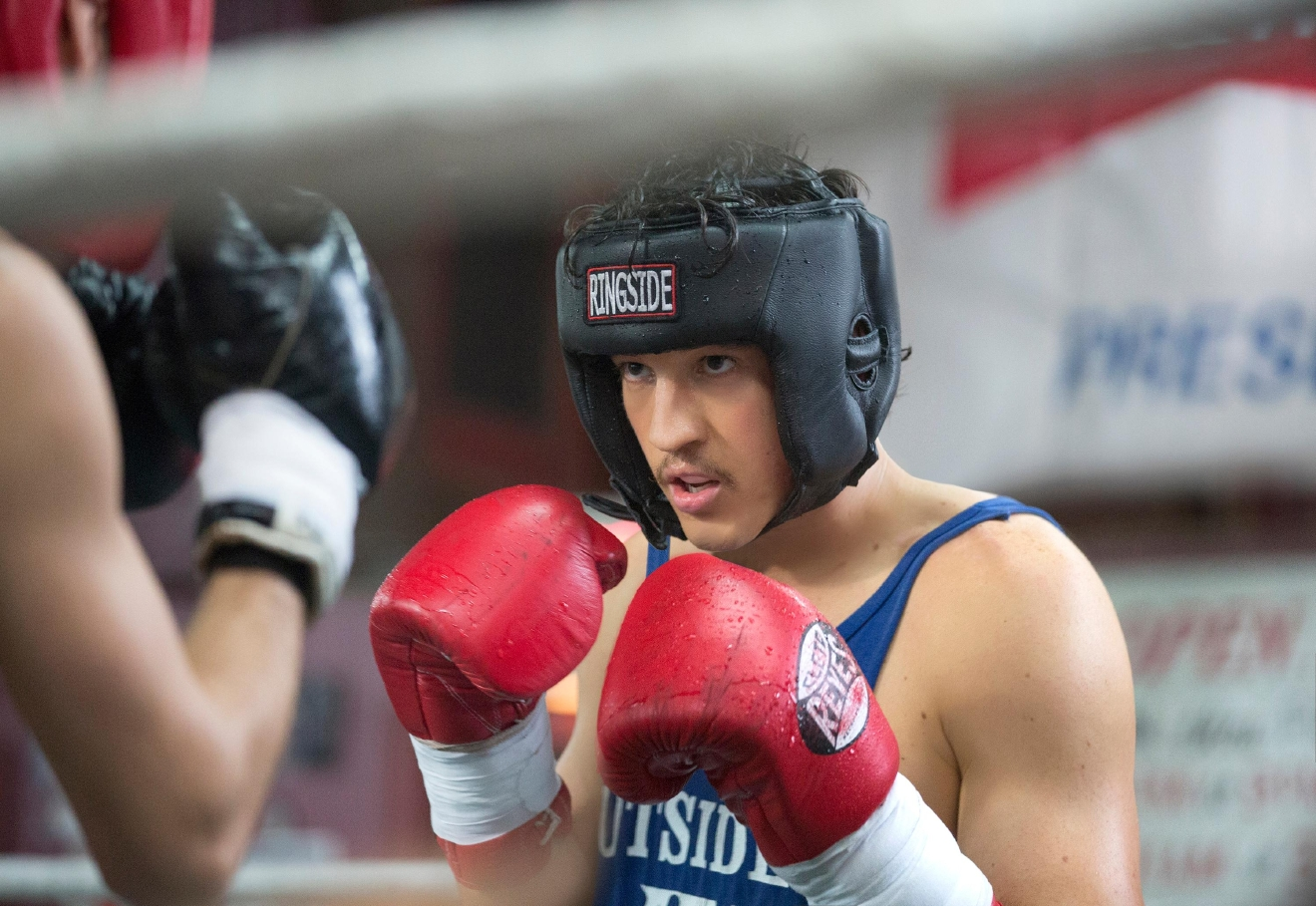Miles Teller in BLEED FOR THIS. (Courtesy of Open Road Films)