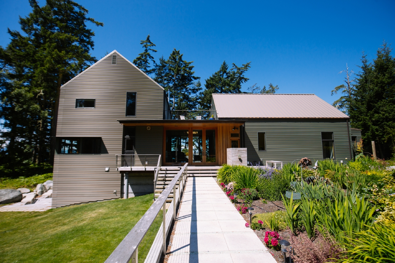 Seattle Backyard Cottage Guide :  million Lopez Island home with the ultimate backyard  Seattle Refined