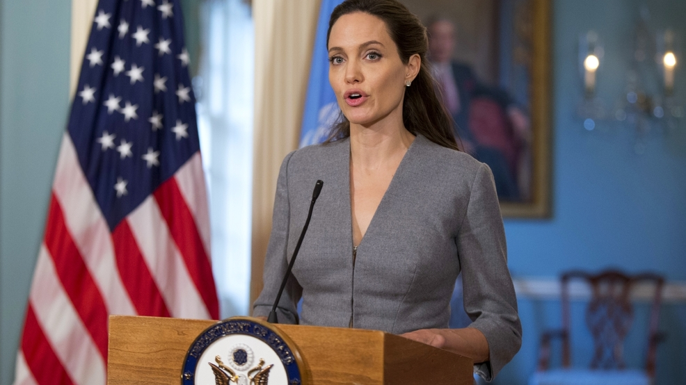 news entertainment gallery angelina jolie takes travel york times