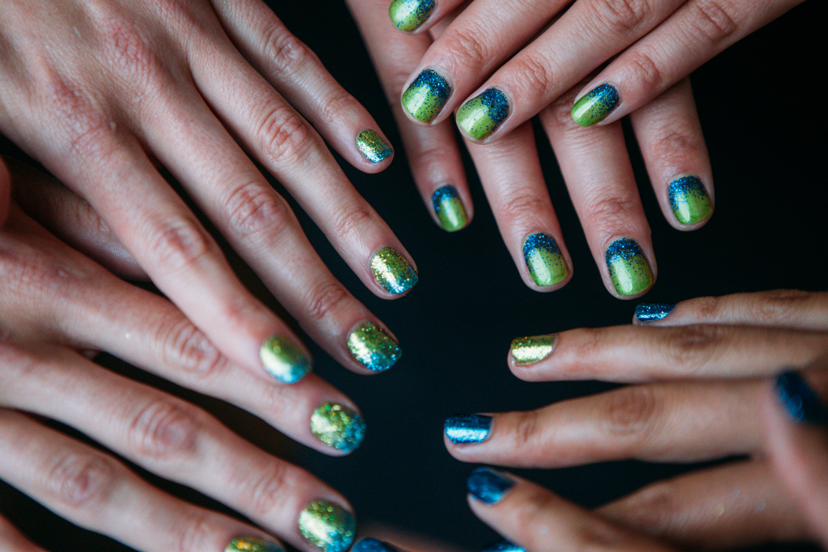 "The ultimate accessory this football season is right at your fingertips... literally! Show your support for the Hawks with a ""Fanicure"" - a manicure for Seahawks fans. The nail artists at Gene Juarez Salons & Spas have created three fresh looks sure to make your digits dazzle."
