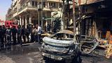 Bombings in Baghdad kill 27, Islamic State responsible for attack near ice cream shop