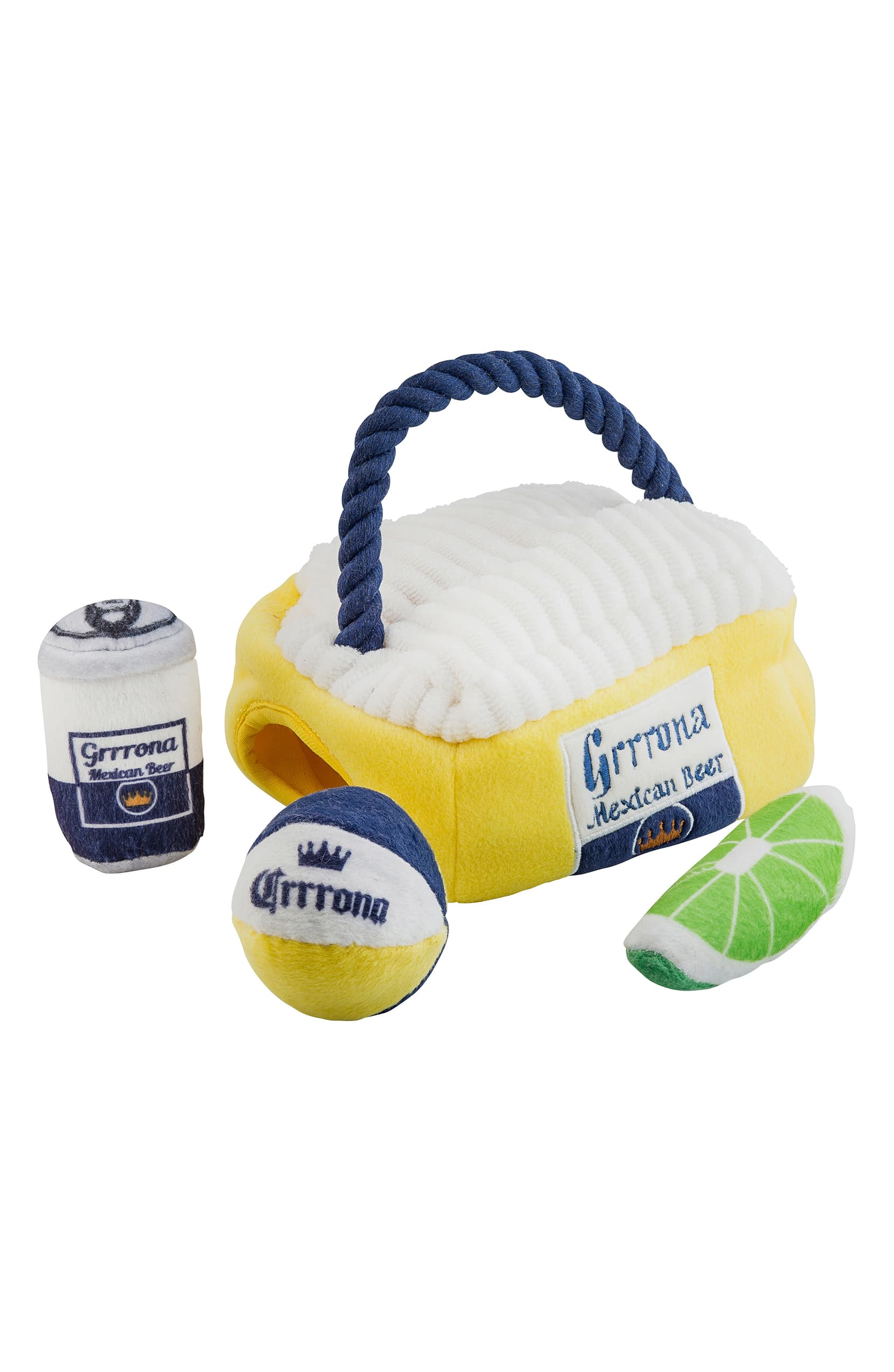 "<a  href=""https://shop.nordstrom.com/s/haute-diggity-dog-grrrona-beach-cooler-dog-toy/5373835?origin=keywordsearch-personalizedsort&breadcrumb=Home%2FAll%20Results&color=yellow%20multi"" target=""_blank"" title=""https://shop.nordstrom.com/s/haute-diggity-dog-grrrona-beach-cooler-dog-toy/5373835?origin=keywordsearch-personalizedsort&breadcrumb=Home%2FAll%20Results&color=yellow%20multi"">Grrrona Beach Cooler Dog Toy by HAUTE DIGGITY DOG ($25.95)</a>{&nbsp;}Your pup - doubtless already rocking an enviable play-hard, rest-hard beach vibe—will love this interactive hide-and-seek beach cooler toy. (Image: Nordstrom)"