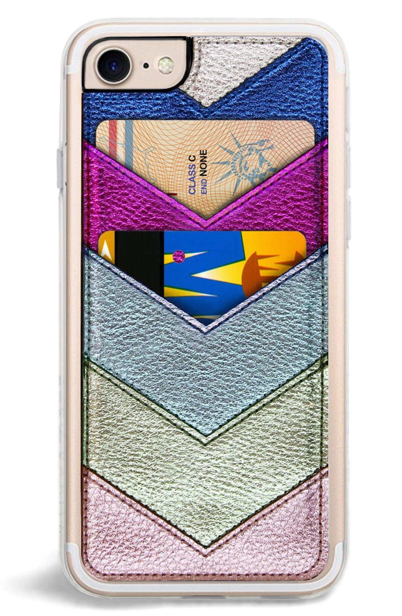 Chevron Faux Leather iPhone Case - $35. This is a great gift for the mom-on-the-go who is always misplacing her phone/credit cards (I literally just described myself). Plus it's super cute and affordable. Purchase at Nordstrom. (Image: Nordstrom)<p></p>
