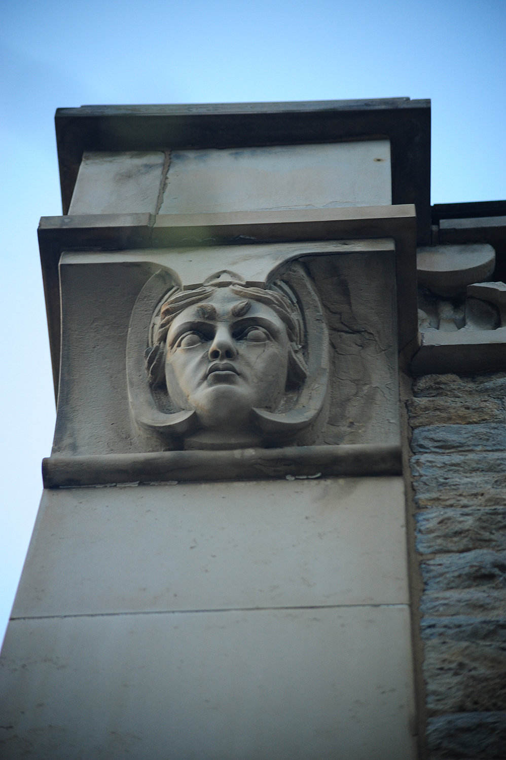 Detail on Spring Grove's historic office building / Image: Melissa Doss Sliney