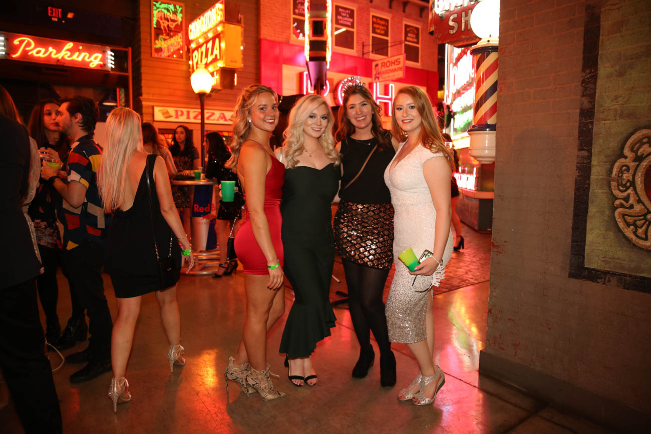 Casual Socialite hosted 'Something Different NYE' at the American Sign Museum on Tuesday, December 31. Hundreds of guests dressed in formal attire and cheered on the new year while surrounded by the museum's vast collection of vintage neon signs. DJ D-Lo and DJ Johnny B kept the music bumping throughout the night. It was the first time the American Sign Museum has ever hosted a New Year's Eve party. ADDRESS: 1330 Monmouth Avenue (45225) / Image: Joe Binford // Published: 1.1.20