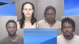 Four arrested on double murder charges in Robeson County