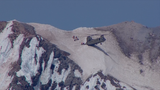 Chinook helicopter retrieves injured climber, six rescuers from summit of Mount Hood