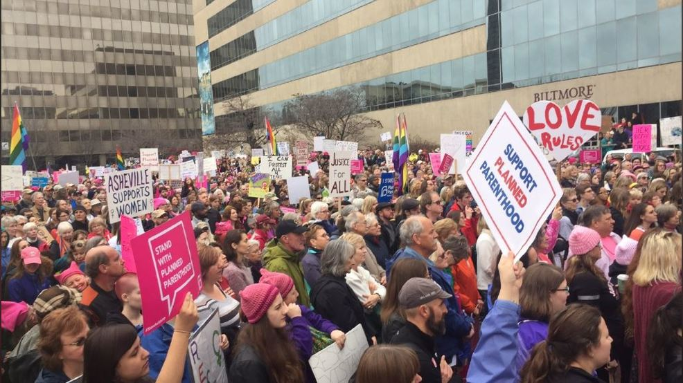 Women's March on Asheville returns Saturday