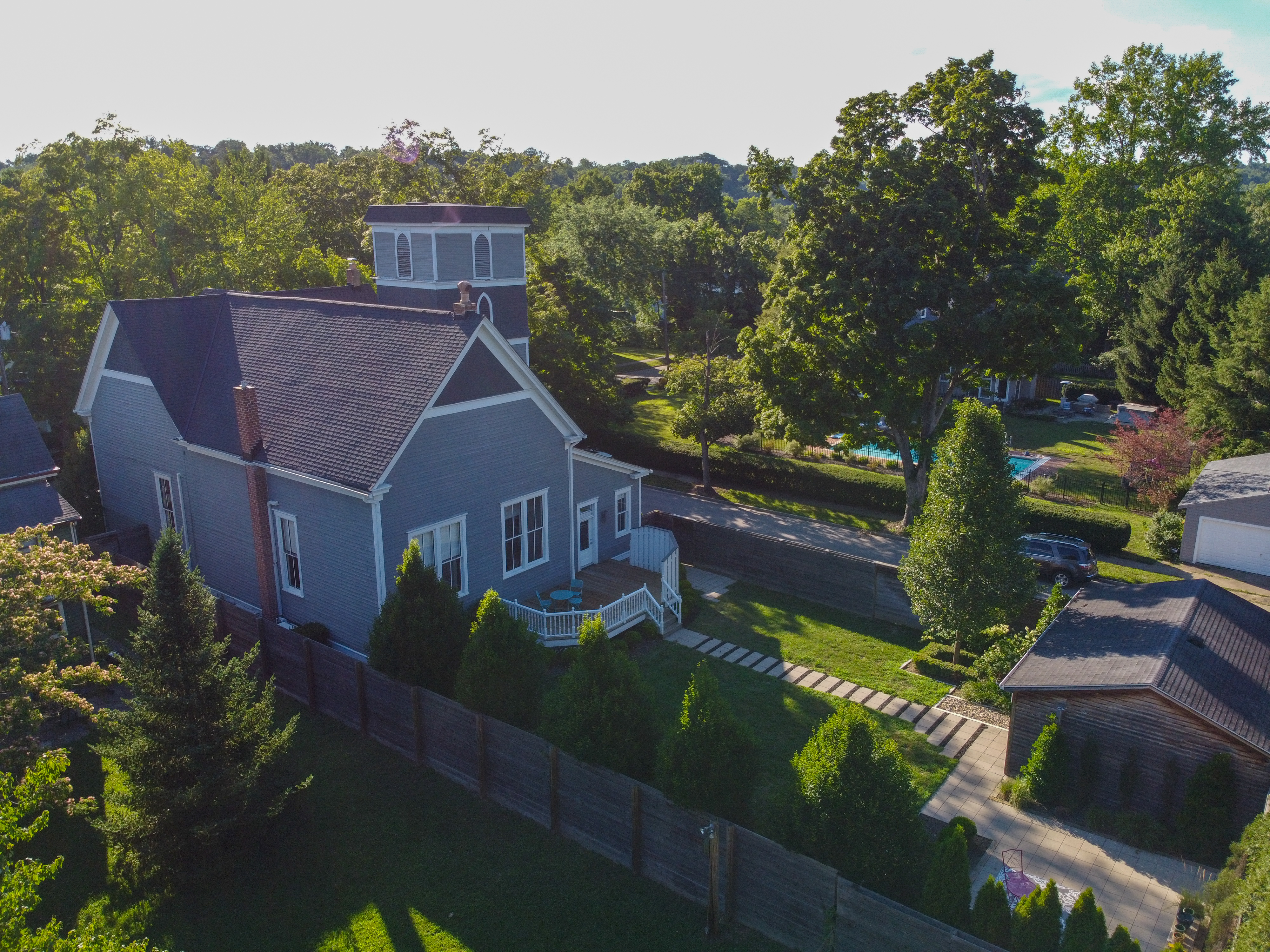 In 1888, Sarah Scott and her sister founded the Society of the Universalists of Milford and based it out of their home. When they outgrew that space, a Universalist church was constructed at 102 Mound Avenue. The church was christened on September 8, 1892 as St. Paul's, and the Reverend W.M. Backus was its first pastor. By the 1950s, the Universalists moved on from the building. SOURCE: Images of America: Milford by the Greater Milford Area Historical Society (2008) / Image: Josh Isaacs // Published: 8.19.20