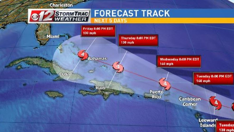 Hurricane watches issued as Irma heads toward Caribbean  WPEC