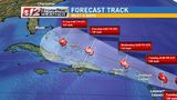 Hurricane watches issued as Irma heads toward Caribbean