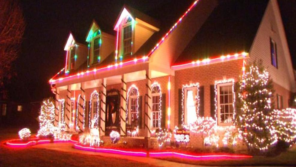 winfield engineer designs elaborate christmas light display