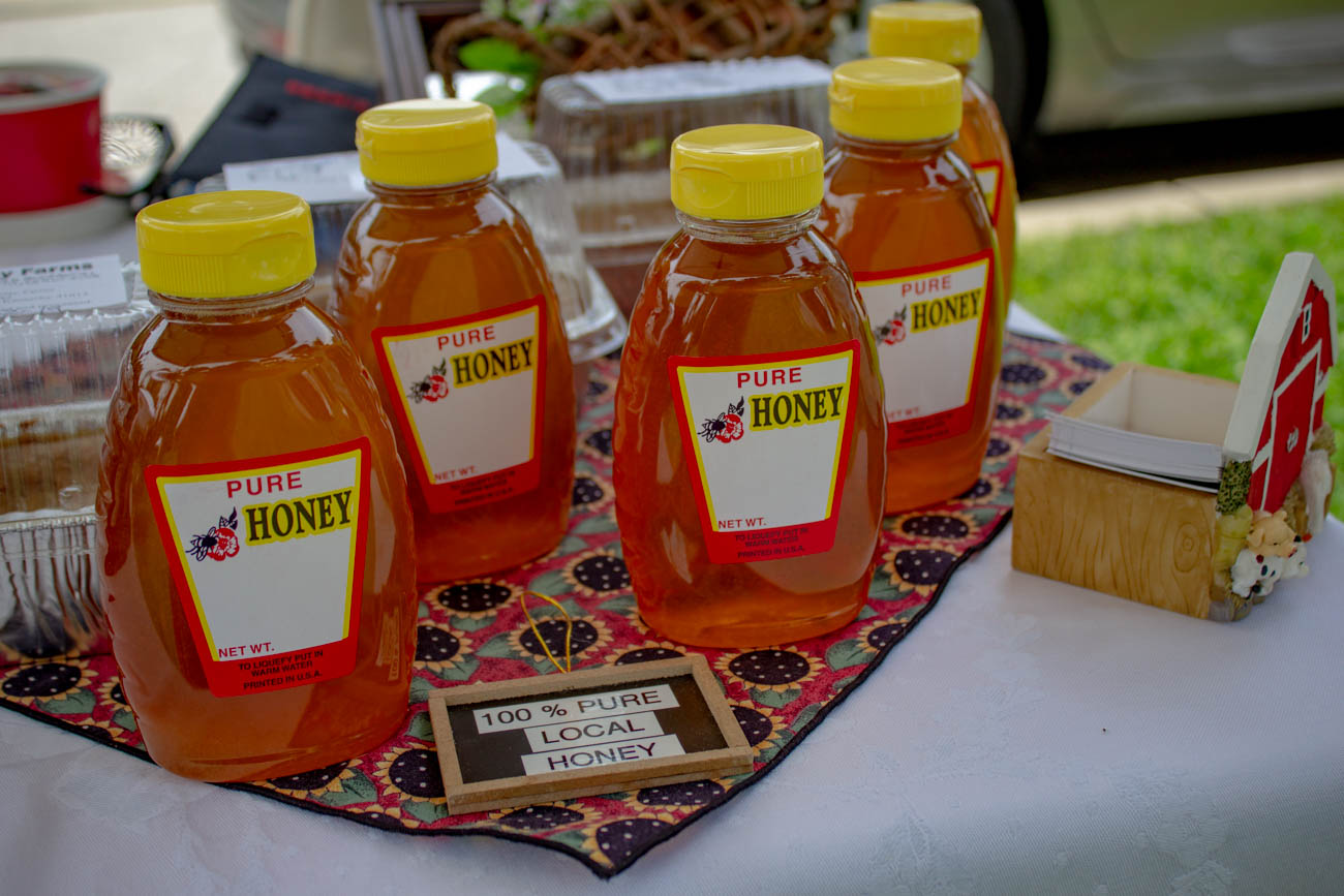 Local honey from Sunday Farms / Image: Katie Robinson, Cincinnati Refined // Published: 6.24.19