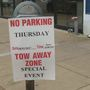 Huntington businesses deal with street closings from presidential visit