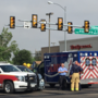 Amarillo FD incident command vehicle involved in accident