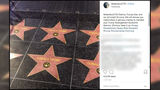 Fake Donald Trump stars appear on Hollywood Walk of Fame