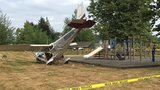3 injured as small plane crashes into Enumclaw park