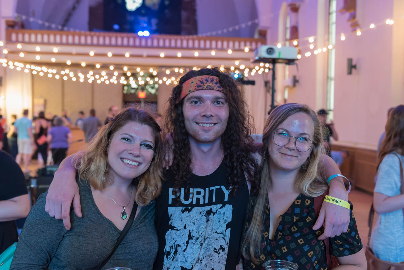 Marissa Hollander, Josh Stanley, and Lindsy McCarty  / Image: Mike Menke // Published: 8.26.18