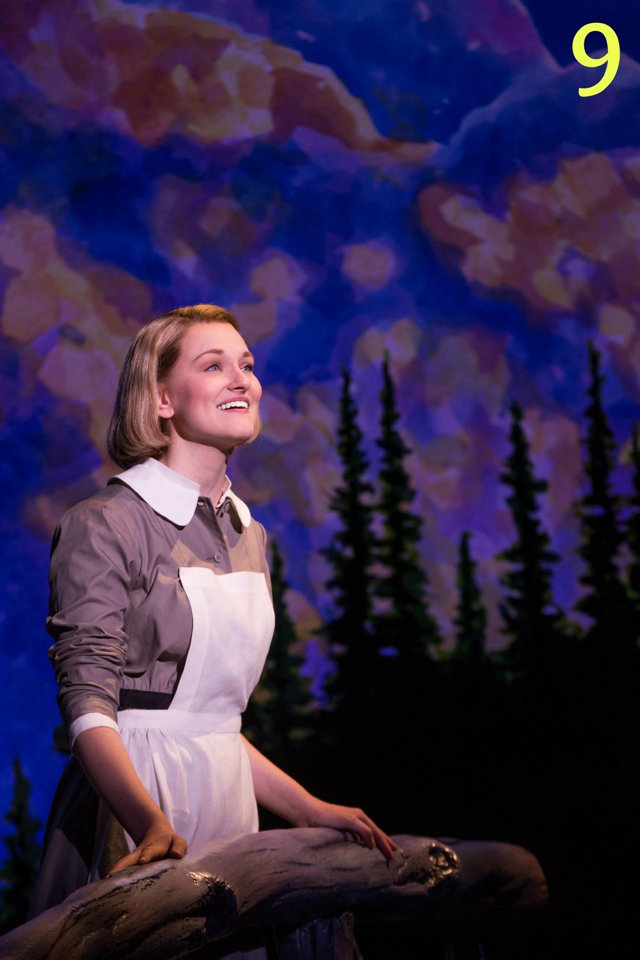 #9 - The Sound of Music is, the first of the 2016/17 Broadway Across America series, is at the Aronoff Center through October 9. / PICTURED: Kerstin Anderson as 'Maria Rainer' // IMAGE: Matthew Murphy