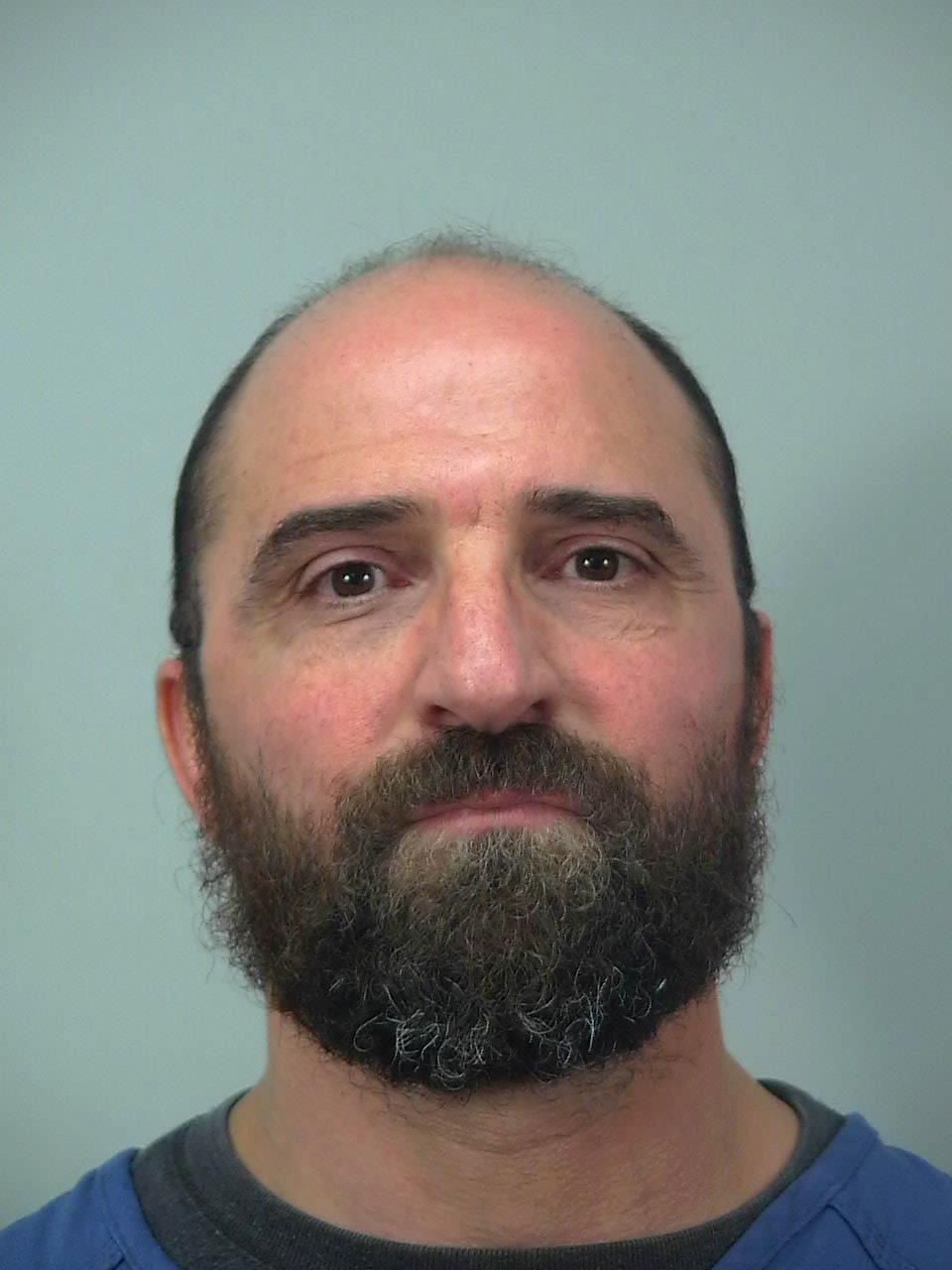 Khaled Shabani is shown in a Dec. 22, 2017 photo provided by the Dane County (Wis.) Sheriff's Office. Madison police say they arrested Shabani accused of snipping a 22-year-old customer's ear on Friday. Police spokesman Joel DeSpain says officers arrested 46-year-old Shabani on suspicion of disorderly conduct. Shabani pleaded not guilty to disorderly conduct Wednesday. DeSpain says Shabani told officers it was an accident. (Dane County (Wis.) Sheriff's Office via AP)