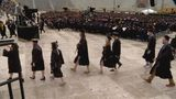 Notre Dame graduates stage walkout to protest VP Pence
