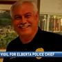 Community gathers to support Elberta police chief critically injured in accident
