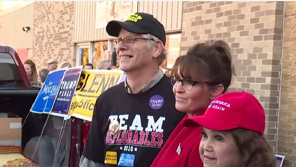Sarah Palin campaigns for Trump in Midland Sunday