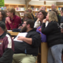 Community packs board meeting to support Parchment teachers