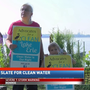 Advocates for a Clean Lake Erie show support for Toledo mayoral and council candidates