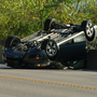 Police: Speeding car launches and overturns on Columbia Parkway