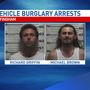 Two Effingham Men Arrested in Connection to Vehicle Burglaries