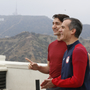 Canadian PM Trudeau talks up friendship, ties with LA mayor