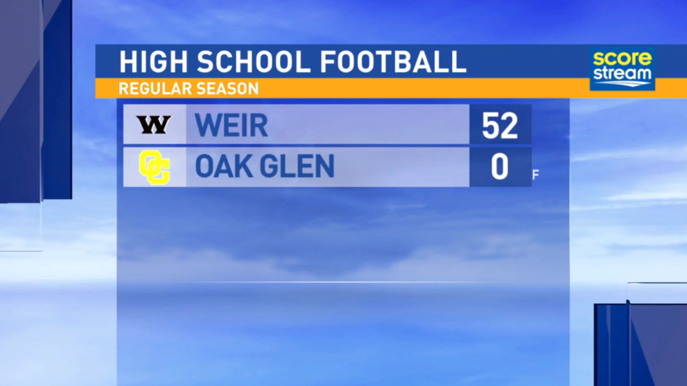 8.25.17 Highlights: Weir High at Oak Glen