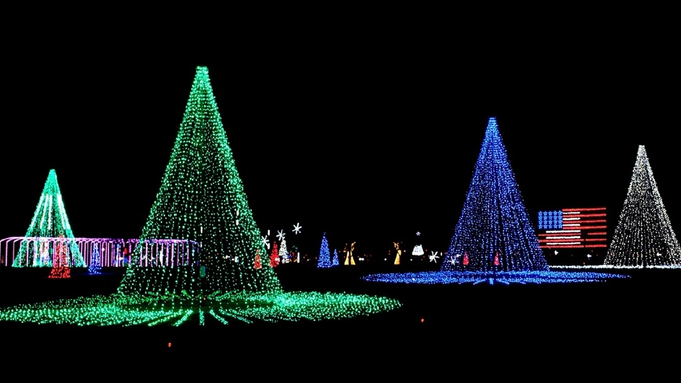 Island Christmas.One Of The Best Local Christmas Light Shows Is At Coney