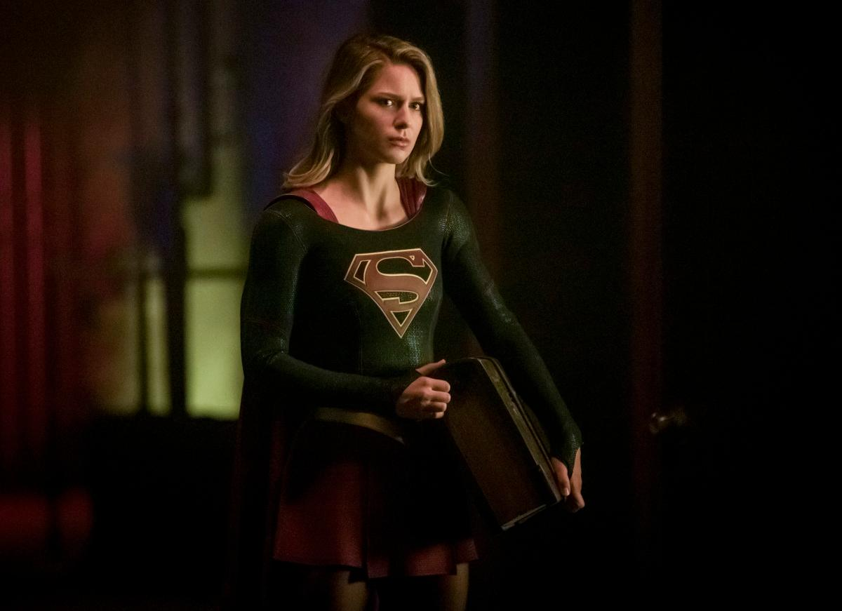"Arrow -- ""Elseworlds, Part 2"" -- Image Number: AR709c_0131b -- Pictured: Melissa Benoist as Kara/Supergirl -- Photo: Jack Rowand/The CW -- �© 2018 The CW Network, LLC. All Rights Reserved."