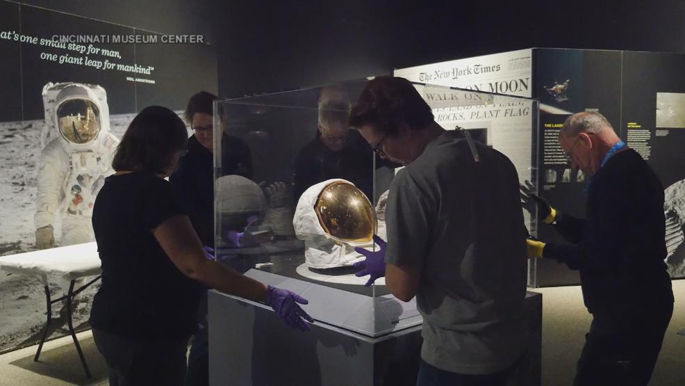 Special Apollo 11 exhibit opens at Cincinnati Museum Center