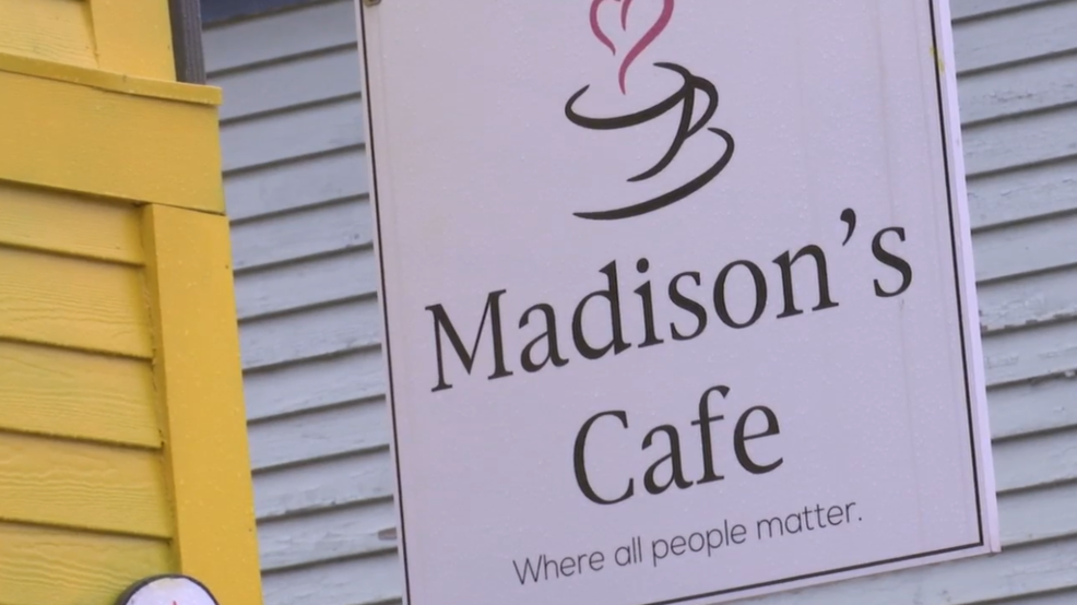 Town rallies around cafe with employees with special needs